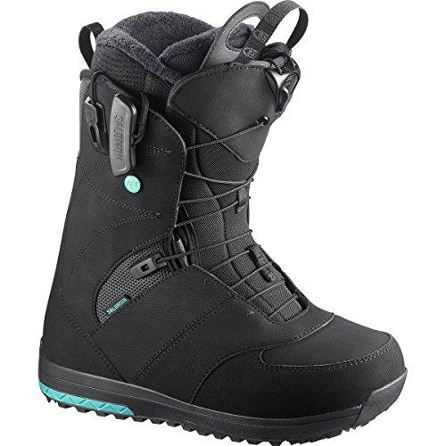 Snowboard Ivy Boot (Salomon Snowboards Ivy Snowboard Boot - Women's Black, 10.5)