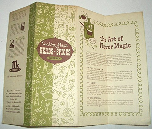 The Art of Flavor Magic - Herbs & Spices and how to use them