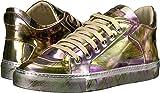 MM6 Maison Margiela Women's Graphic Metallic Low Top Violet/Green Boot