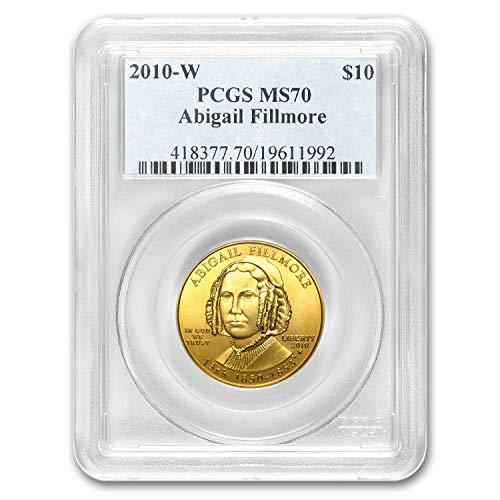(2007 W - Present 1/2 oz Gold First Spouse Coins MS-70 PCGS (Random Year) 1/2 OZ MS-70 PCGS)