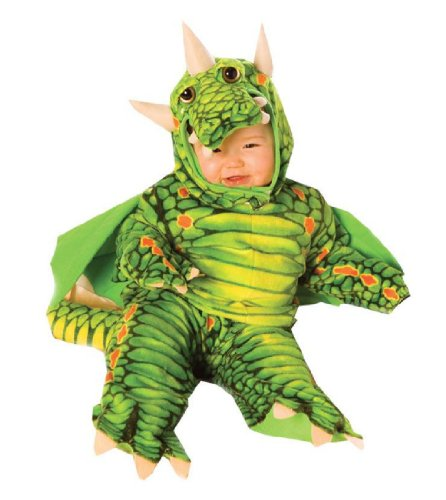[Dragon Costume: Baby's Size 2T-4T] (Dragon Girl Costume)