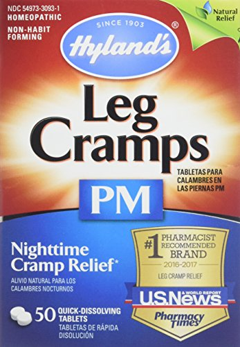 - Hyland's Leg Cramps PM With Quinine Tablets 50 ea ( Pack of 4)