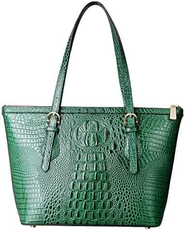 83a002bdecac PIFUREN Leather Tote Bag for Women shoulder tote Bag Designer Crocodile  Purse Office Satchel Totes