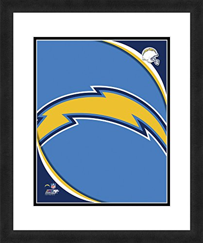 - NFL San Diego Chargers Logo, Beautifully Framed and Double Matted, 18