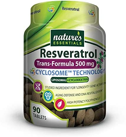 Amazon Com Liposomal Resveratrol 500mg Per Pill Full Spectrum