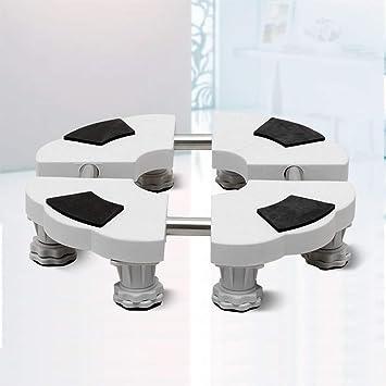 Base resistente para lavadora, Base móvil universal ajustable para ...