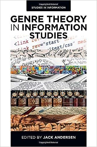 Kostenlose PDF-Bücher herunterladen Torrents Genre Theory in Information Studies (Studies in Information) auf Deutsch PDF ePub MOBI
