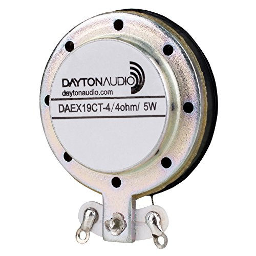 Dayton Audio DAEX19CT-4 Coin Type 19mm Vented Exciter 5W 4 O