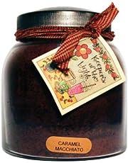 A Cheerful Giver Caramel Macchiato 34 oz. Papa Jar Candle