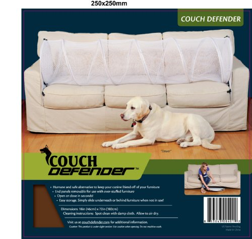 Couch Defender Keep Pets Off of Your Furniture, Brown