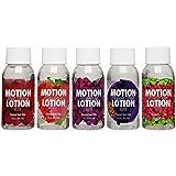 Doc Johnson Motion Lotion Elite - 5 Flavor Sampler Pack - Flavored Body...