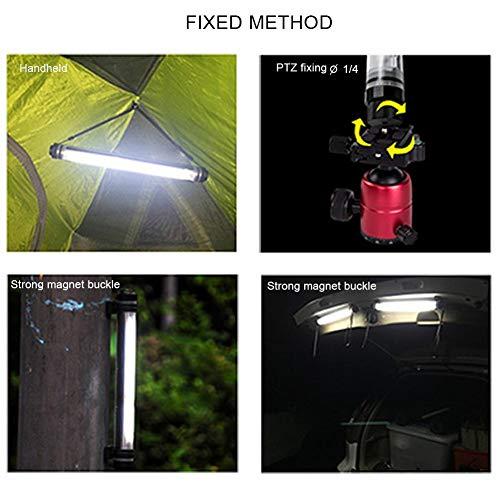 Ksruee Waterproof Photography Fill Light, Handheld LED Wand Light Stepless Brightness 000K-5750K Cold Warm Color Temperature