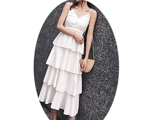 Long Dress A Coat, Suspenders, Cake, Black Dress, The Knee, French Niche Doll Sk ()