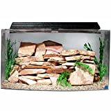 SeaClear 46 gal Bowfront Acrylic Aquarium Combo Set, 36 by 16.5 by 20'', Clear
