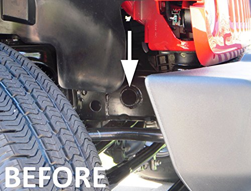 jeep jk wiring up in dress jeep wrangler jk frame hole cover plug accessory dress up ...