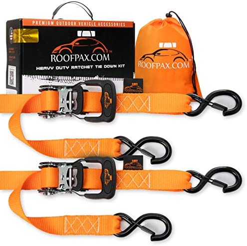 RoofPax Motorcycle Strength Tiedowns Chromoly product image