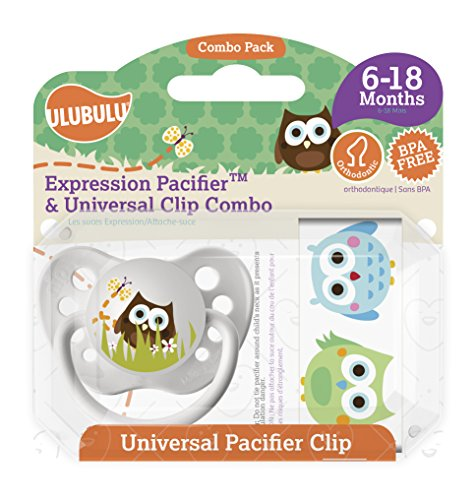 Ulubulu Pacifier Universal Clip months