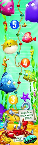 Eureka School 849022 Eureka Fish Think Tank Vertical Classroom Banner, Growth Chart, Measures 45 x 12