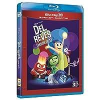 Del Revés (Inside Out) (BD 3D + 2D) [Blu-ray]