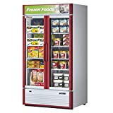 Turbo Air TGF-35SD Glass Swing Door Two Section Reach-In Merchandiser Freezer