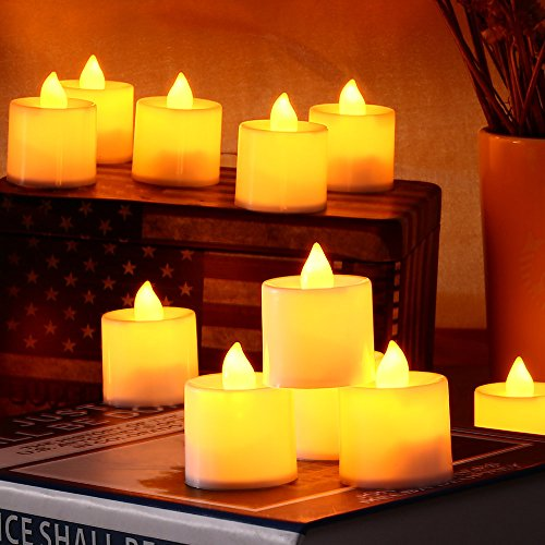 Candles Lights 24 Led Battery Operated Flameless