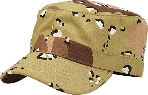 KBK-1464 DES L Cadet Army Cap Basic Everyday Military Style Hat Desert Camo -