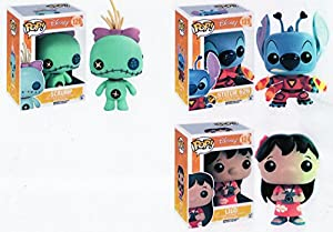 "Funko Disney LILO - STITCH & SCRUMP 3.75"" POP FIGURE 3PC SET"