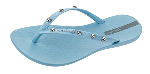 3a1a61b403ca68 Ipanema Women's Wave Hits Plastic Toe Post Flip Flop Sky: Amazon.it: Scarpe  e borse
