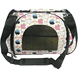 RUMOD Dog & Cat Pet Carrier Tote Handbag Soft Sided Pet Carrier Bag for Small Dogs or Cats, Top Loading, TSA Travel