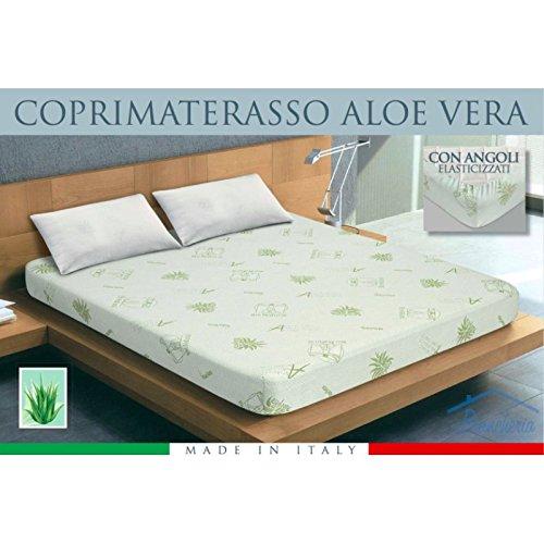 tex family cubrecolchón Tipo Aloe Vera Bio Natural - 2 plazas: Amazon.es: Hogar