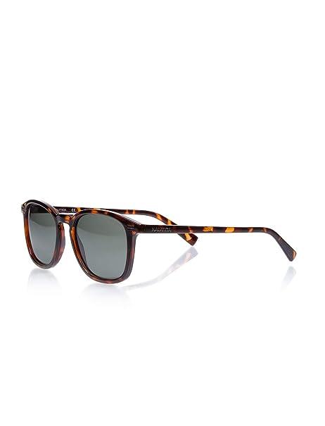 Nautica N3617Sp 206 52, Gafas de Sol para Hombre, Dark Tortoise