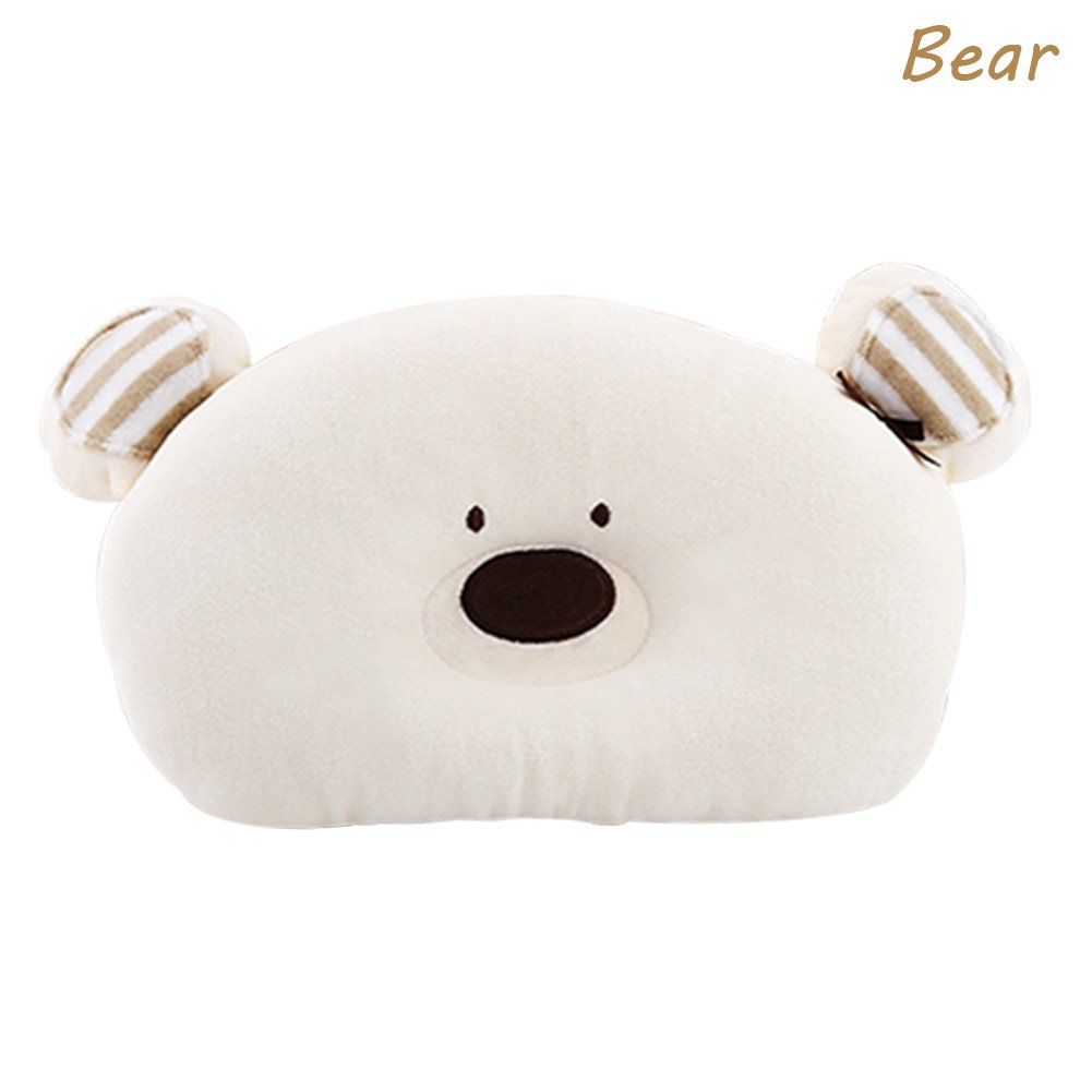 Merryshop@ Prevent Flat Head Toddle From Baby Head Support Pillow -Bear (Bear) by Merryshop@   B00U3UD20C