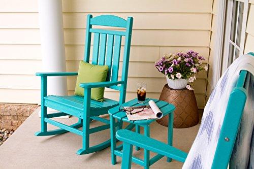 عروض POLYWOOD R100AR Presidential Outdoor Rocking Chair, Aruba