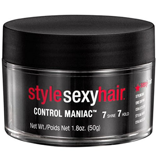Style Sexy Hair Control Maniac Wax, 1.8 oz ( Pack of 3)