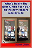 Whats Really the Best Kindle for You? all the readers side by side