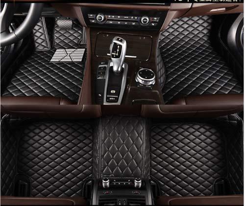 E83 Mat - hansheng for BMW X3 E83 F25 Car Floor Mats Luxury Custom FloorLiner Auto Mats All Weather Protector Car Floor Mats Carpets (Black, X3-E83-2004~2010)