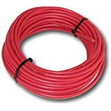 Red Solar cable #10 Copper 50' Bulk 1000VDC with XLPE insulation