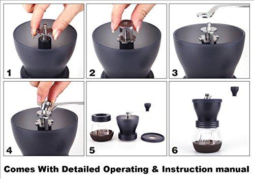 Amazon. Com: fimei multifunctional portable manual coffee grinder.