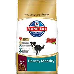Hill's Science Diet Adult Healthy Mobility Dry Dog Food, 15.5-Pound Bag