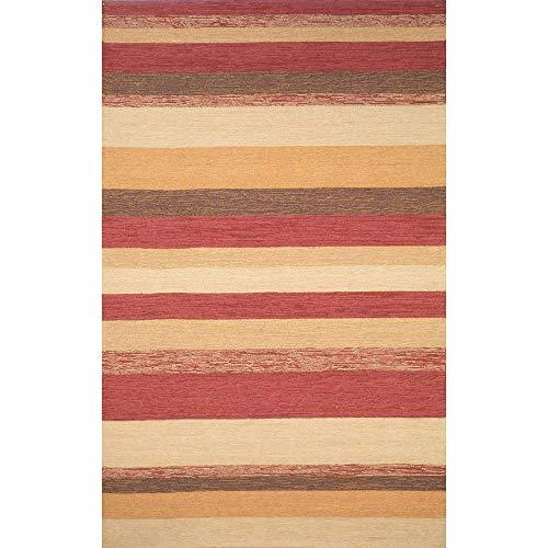 Liora Manne RVL71190024 Ravella Variations Rug Stripe Indoor/Outdoor Rug 7'6