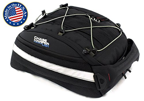 Chase Harper 5400 CR2 Tail Trunk - Water-Resistant, Tear-Resistant, Industrial Grade Ballistic Nylon with Adjustable Bungee Mounting System for Universal Fit, 14