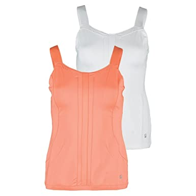 3f9101baca421 Fila Women s Lawn Cami Tank Top at Amazon Women s Clothing store