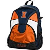 Illinois Fighting Illini Navy Blue-Orange Double Trouble Backpack