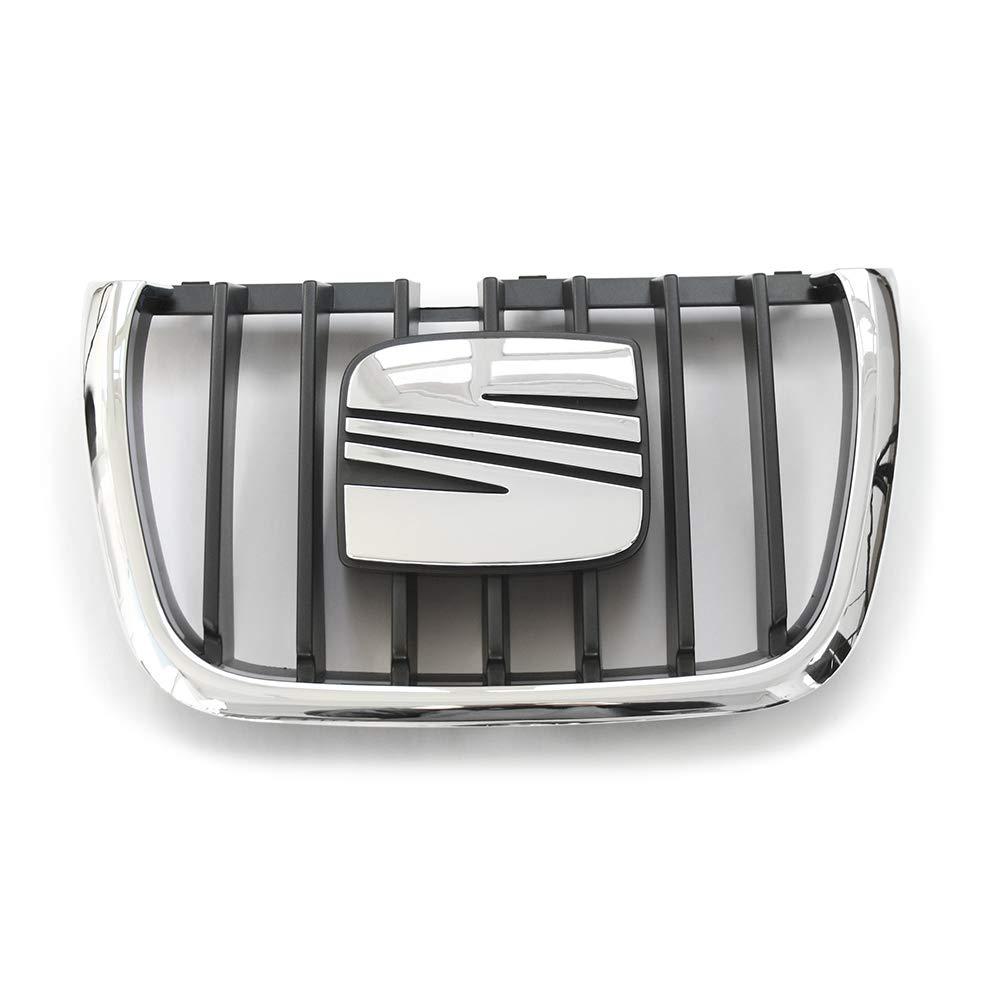 Rejilla Parilla Calandra parachoques delantera emblema negro//cromado 7M785365101C Recambios Originales Seat