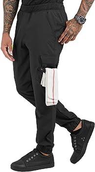 Amazon Com Chefuniforms Com Pantalon De Chef Para Hombre Elastico Talla S 3x Classic S Clothing