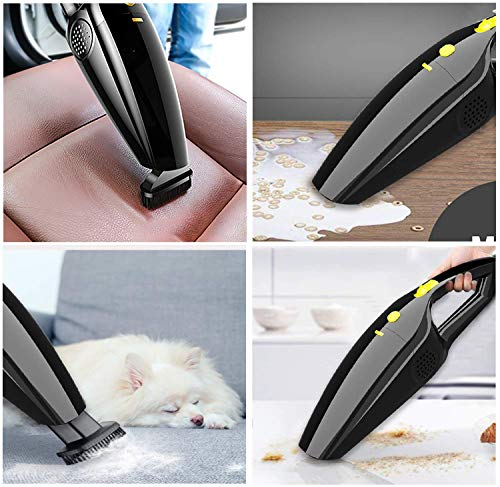 Handheld Vacuum Cordless, Portable Hand Vacuum Cleaner with High Power, Rechargeable Vacuum Cordless Car Vacuum Cleaners… 3