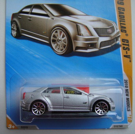 Amazon Com Hot Wheels 2010 New Models 10 44 Silver 09 Cadillac