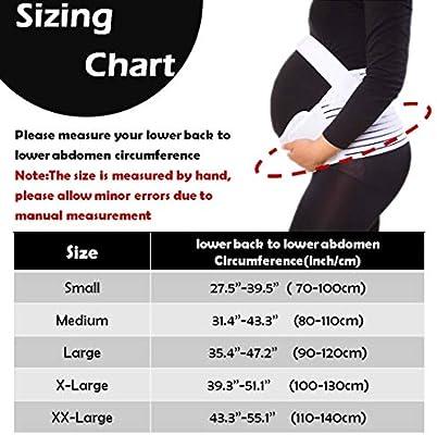aaae5fb7636 ... KIWI RATA Maternity Belt Waist Abdominal Back Belly Band Pregnancy Belt  Support Brace Postpartum Recovery Belt ...