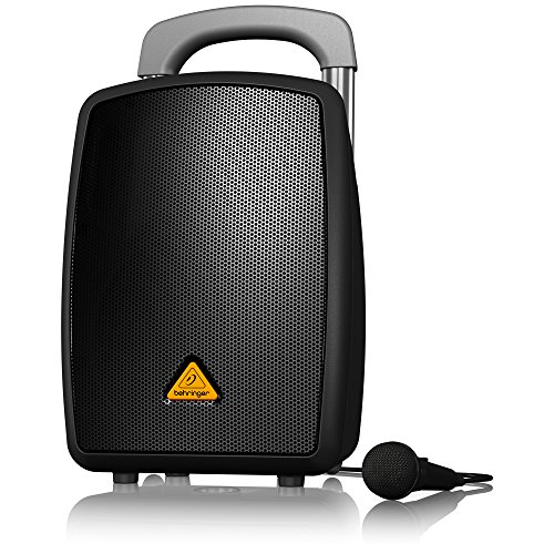Battery Powered Pa System (BEHRINGER EUROPORT MPA40BT-PRO)