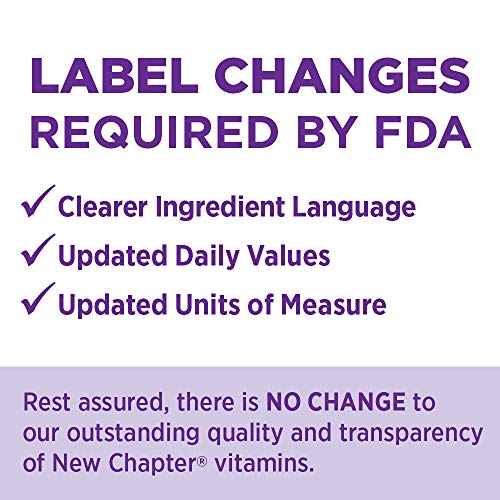 New Chapter Perfect Postnatal Vitamins, Lactation Supplement with Fermented Probiotics + Wholefoods + Vitamin D3 + B Vitamins + Organic Non-GMO Ingredients - 192 ct (Packaging May Vary) by New Chapter (Image #9)